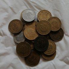 Monedas Franco: 23 MONEDAS DE FRANCO. DISTINTOS AÑOS. Lote 194685045