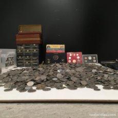 Monedas Franco: IMPRESIONANTE LOTE DE MONEDAS 66 KILOS DE MONEDAS DE ESPAÑA Y OTROS PAÍSES. Lote 194728196