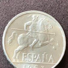 Monedas Franco: 10 MONEDAS SIN CIRCULAR DE 10 CÉNTIMOS DE 1953. Lote 194733765