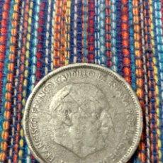 Monedas Franco: CAJ- 50 PESETAS FRANCO 1957 FALSAS DE ÉPOCA EN PLOMO?? RARA. Lote 194750705