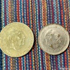 Monedas Franco: CAJ- 50 Y 100 PESETAS FRANCO FALSAS DE ÉPOCA. Lote 194750775