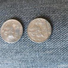 Monedas Franco: 2 MONEDAS DE 5 CÉNTIMOS DE 1953. Lote 194751988