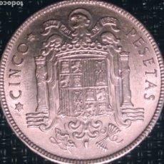 Monedas Franco: 5 PESETAS 1949 *50 ESTADO ESPAÑOL.SIN CIRCULAR. Lote 194754411