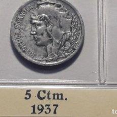 Monedas Franco: 5 CENTIMOS 1937 . Lote 194878767