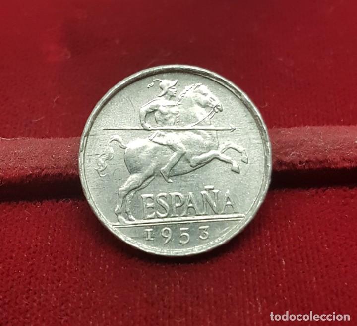ESPAÑA SPAIN 5 CÉNTIMOS - IBERIAN RIDER 1953 KM 765 EBC/+ XF/+ (Numismática - España Modernas y Contemporáneas - Estado Español)