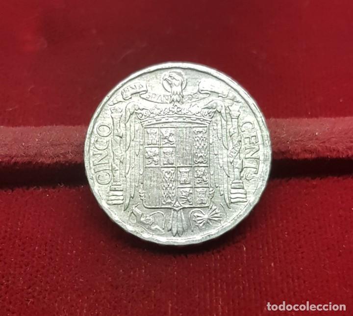 Monedas Franco: España Spain 5 Céntimos - Iberian rider 1953 Km 765 EBC/+ XF/+ - Foto 2 - 194880328