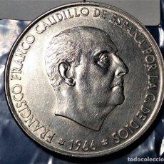 Monedas Franco: 100 PESETAS DE FRANCO 1966 70* . Lote 194896068