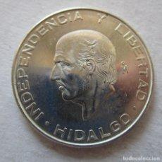 Monedas Franco: MEXICO . 5 PESOS DE PLATA MUY ANTIGUOS . HIDALGO . CALIDAD TOTALMENTE NUEVA. Lote 194913115