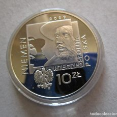 Monedas Franco: POLONIA . 10 ZLOTYCH DEL AÑO 2009 . CALIDAD PROOF Y EN CAPSULA NUEVA. Lote 194923240