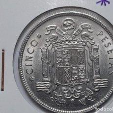 Monedas Franco: 5 PESETAS 1949 *50 EBC+++ SC-DURO CABEZON. Lote 194973781