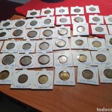 Monedas Franco: LOTE 43 PIEZAS DE FRANCO VARIADAS .DESDE MBC A SC. Lote 195065185