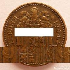 Monedas Franco: 1 PESETA 1944 EBC. Lote 195282716