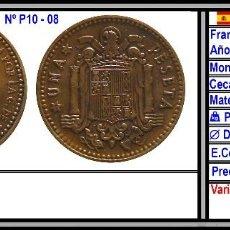Monedas Franco: 1 PESETA 1966 *19 *67. Lote 195369692