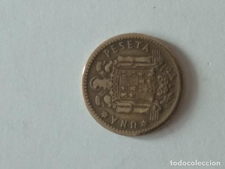 Monedas Franco: MONEDA 1 PESETA FRANCO - 1947-49 - VER FOTOS - Foto 2 - 195479100