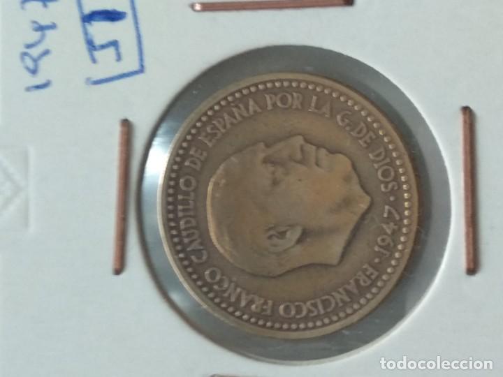 Monedas Franco: MONEDA 1 PESETA FRANCO - 1947-51 - VER FOTOS - Foto 2 - 195479176