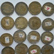 Monedas Franco: 20 MONEDAS DE 2.5 PESETAS, ESTRELLAS ,54 Y 56. Lote 195483113