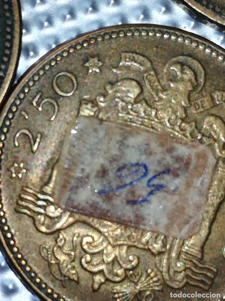Monedas Franco: 20 MONEDAS DE 2.5 PESETAS, ESTRELLAS ,54 Y 56 - Foto 3 - 195483113
