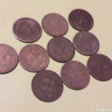 Monedas Franco: LOTE DE 10 MONEDAS DE 1 PESETA DE 1944. Lote 195499630