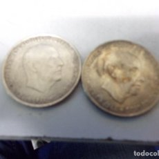 Monedas Franco: DOS MONEDAS PLATA 100 PESETAS ESTRELLAS 67 Y 68. Lote 195509165