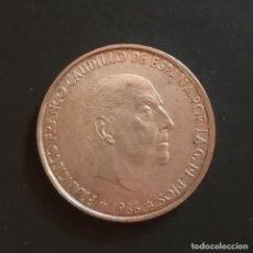 Monedas Franco: MONEDA PLATA 1966 ESPAÑA. Lote 195509930