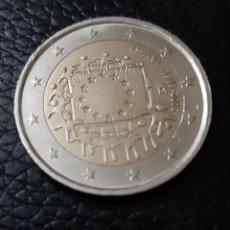Monedas Franco: MONEDA 2 EUROS. ESPAÑA. (30 ANIVERSARIO BANDERA EUROPEA) 2.015. Lote 195514528