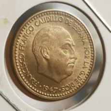 Monedas Franco: 1 PESETA 1947 *52 SC O PRÁCTICAMENTE SIN CIRCULAR. F. FRANCO. Lote 195522535