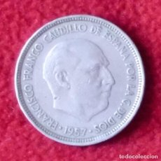 Monedas Franco: 5 PESETAS FRANCISCO FRANCO 1957 59. Lote 196190161