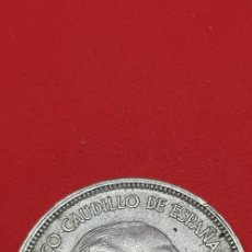Monedas Franco: 25 PESETAS 1957 (*67) EBC. Lote 197850026