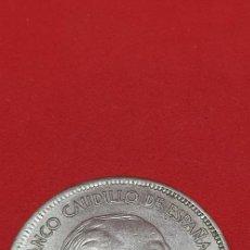 Monedas Franco: 25 PESETAS 1957 (*70) EBC. Lote 197850492