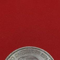 Monedas Franco: 25 PESETAS 1957 (*70) EBC. Lote 197850635