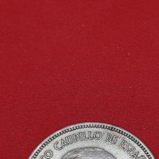 Monedas Franco: 25 PESETAS 1957 (*75) EBC. Lote 197850747