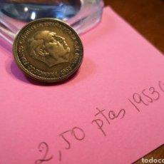 Monedas Franco: 1953 (56) 2.50 PESETAS. Lote 198181283