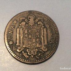 Monedas Franco: 1 PESETA 1947*ILEGIBLE. REF154. Lote 199300775