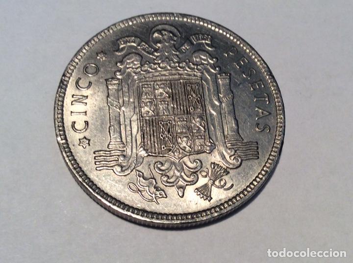 MONEDA 5 PESETAS 1949*50. REF220 (Numismática - España Modernas y Contemporáneas - Estado Español)