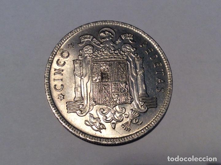 MONEDA CINCO PESETAS 1949 *50 SIN CIRCULAR REF219 (Numismática - España Modernas y Contemporáneas - Estado Español)