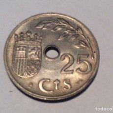 Monedas Franco: 25 CÉNTIMO 1937 EL AÑO TRIUNFAL. SIN CIRCULAR REF226. Lote 199334822
