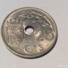 Monedas Franco: 25 CÉNTIMO 1937 EL AÑO TRIUNFAL. SIN CIRCULAR REF227. Lote 199334902