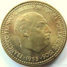 Monedas Franco: 1 PESETA 1953 *54 SC (DE CARTUCHO). Lote 199793535