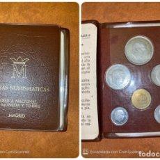 Monedas Franco: CARTERA. PRUEBAS NUMISMATICAS. FNMT. MADRID. 1957. ESTRELLA 72. FRANCO. 6 VALORES. VER FOTOS. . Lote 200107342