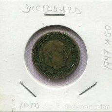 Monedas Franco: 1947*19-50 PESETA ESTADO ESPAÑOL BC+ R 3209 . Lote 200644996