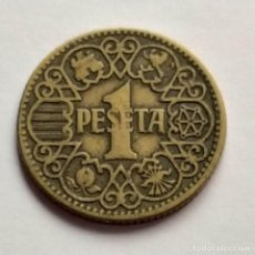 Monedas Franco: ## ESTADO ESPAÑOL 1 PESETAS 1944 ##. Lote 219200708
