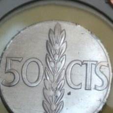Monedas Franco: 50 CÉNTIMOS DE 1966*71. ERROR CANTO REVERSO. Lote 202418176