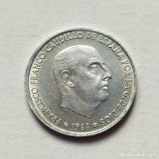 Monedas Franco: ## 50 CÉNTIMOS 1966 ESTRELLA 68 EBC ##. Lote 202803690