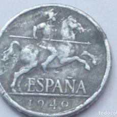 Monnaies Franco: 5 CÉNTIMOS 1940 MBC. Lote 200061541