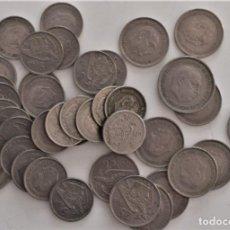 Monedas Franco: LOTE MONEDAS FRANCO DE 5, 25 Y 50 PESETAS VARIADAS - PARA ESTUDIAR. Lote 202872897