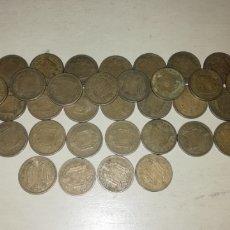 Monedas Franco: LOTE 45 MONEDAS DE 2,5 PESETAS DE 1953, ESTRELLAS 54 Y 56.. Lote 202905041