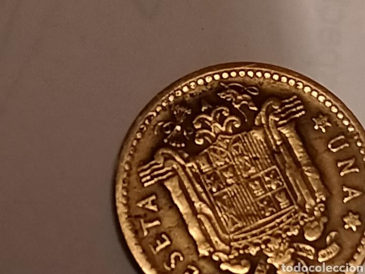 Monedas Franco: 1 PESETA FRANCO 1947 56 MBC EXCELENTE - Foto 3 - 268718669
