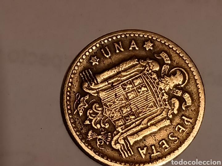 Monedas Franco: 1 PESETA FRANCO 1947 56 MBC EXCELENTE - Foto 4 - 268718669