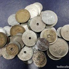 Monedas Franco: LOTE DE 45 MONEDAS. FRANCO Y JUAN CARLOS. VARIADOS VALORES. Lote 202981877