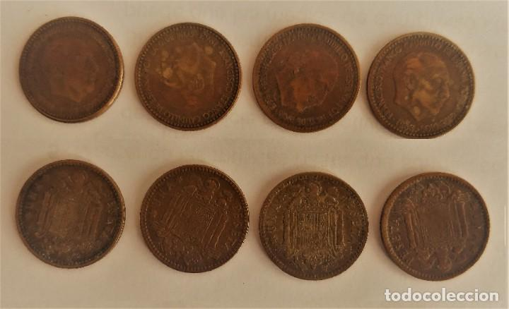 4 MONEDAS DE 1 PESETA DE 1963, (Numismática - España Modernas y Contemporáneas - Estado Español)